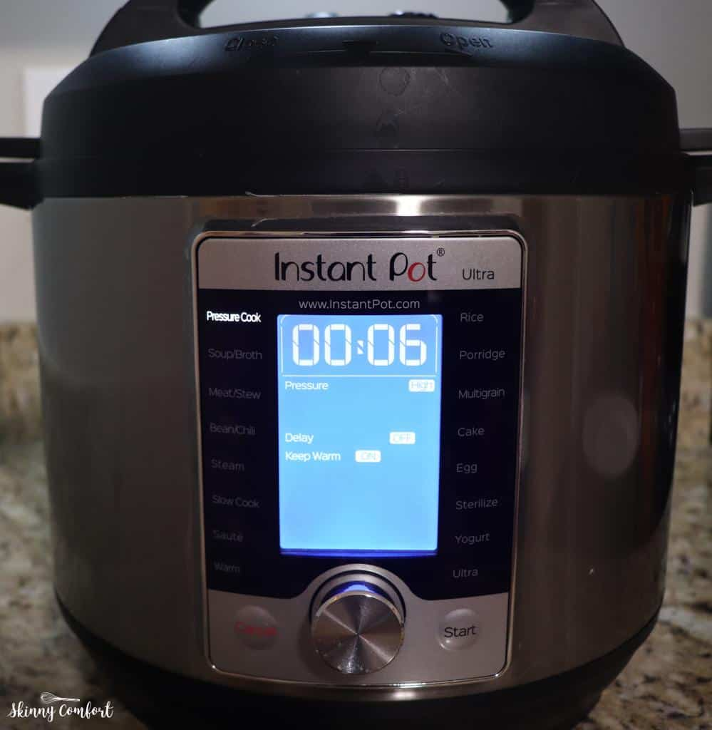Instant Pot Settings for Chicken Mac and Cheese