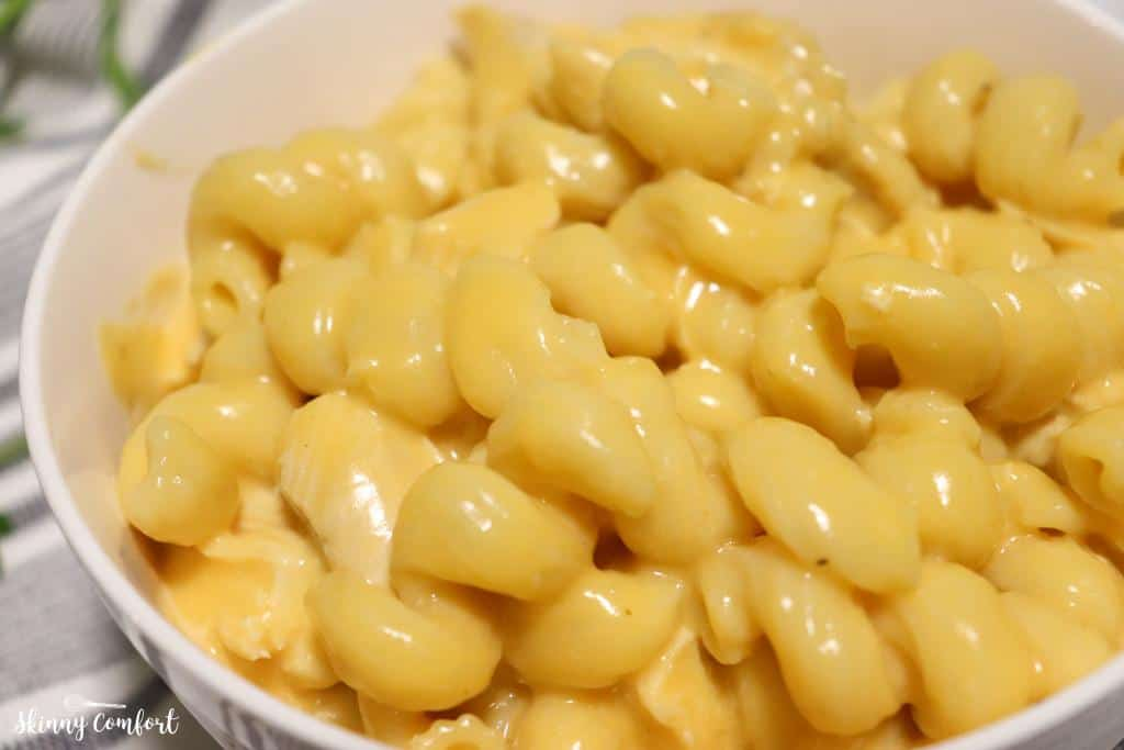 Instant Pot Skinny Chicken Mac and Cheese Zoom In