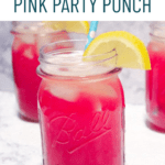 Skinny Pink Party Punch Pinterest