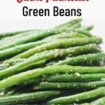 Instant Pot Garlic Parmesan Green Beans Pinterest