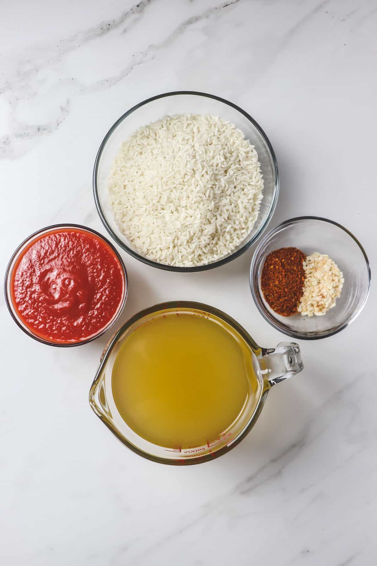 5 simple ingredients for easy mexican rice
