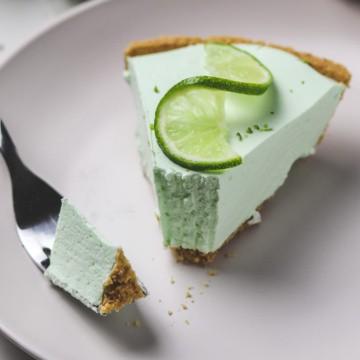 skinny no bake key lime pie