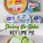 skinny no bake key lime pie