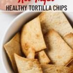 air fryer healthy tortilla chips