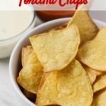 air fryer corn tortilla chips