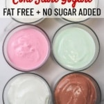 instant pot cold start yogurt with 6 sugar free flavor ideas