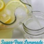 sugar free lemonade
