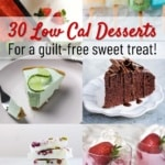 30 low calorie dessert recipes