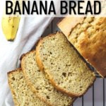 low calorie banana bread pinterest pin