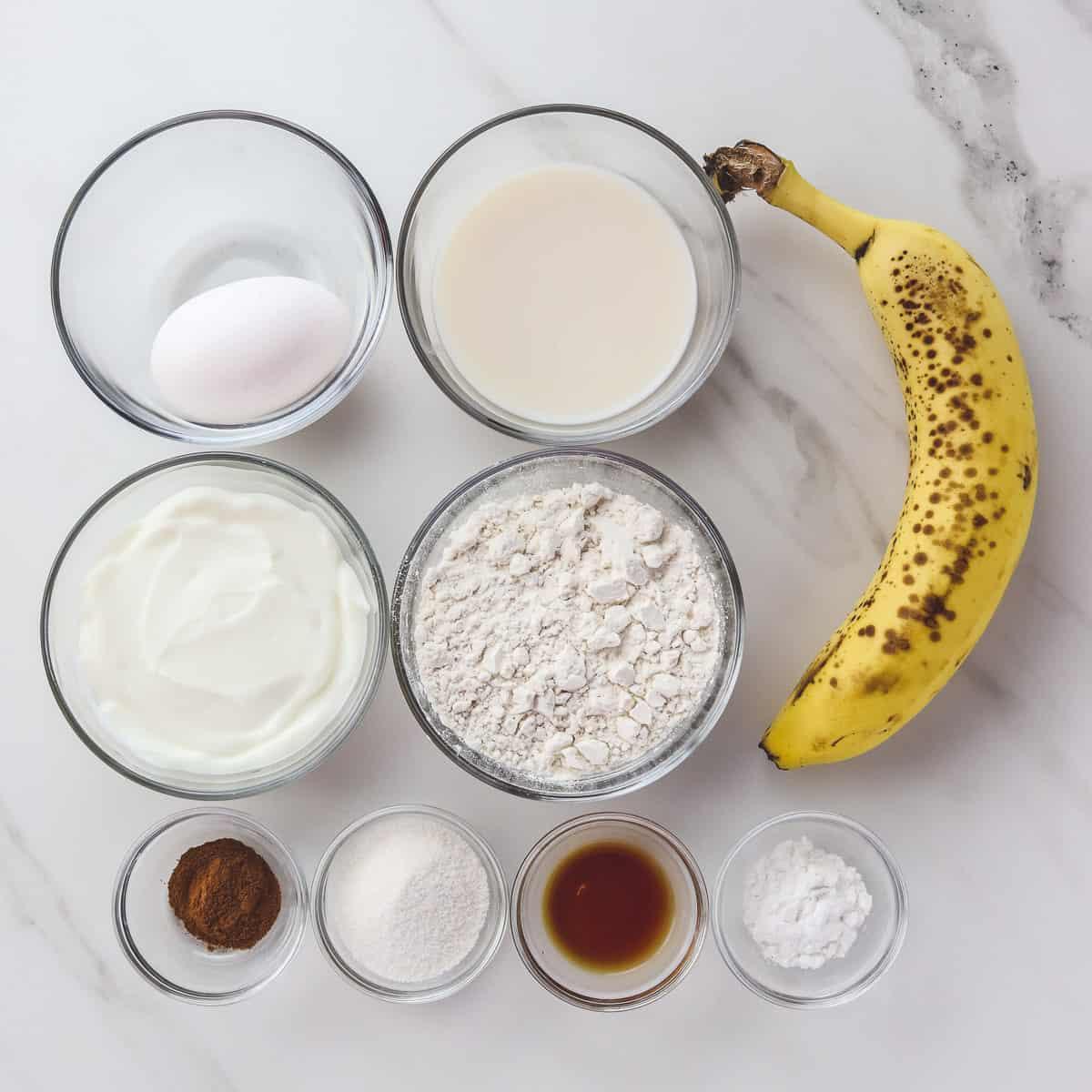 ingredients in healthy low calorie pancakes